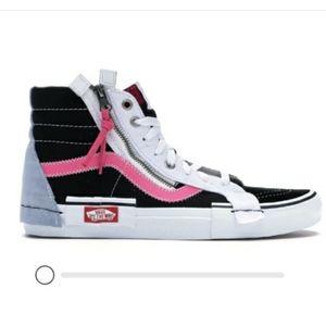 Vans ski hi cap black azalea pink